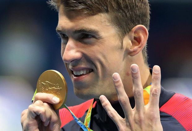 Under Armour features Rockford's Johnny Agar in New Michael Phelps Ad.